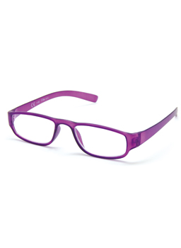 Reading glasses purple